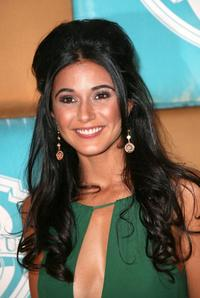 Emmanuelle Chriqui at the In Style Magazine and Warner Bros. Studios Golden Globe After Party.