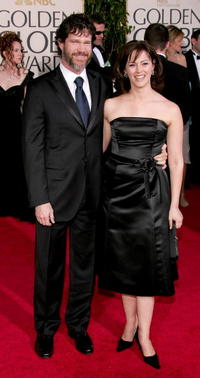 Dylan Walsh and Joanna Going at the 62nd Annual Golden Globe Awards.