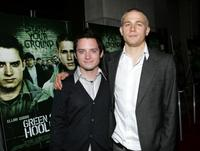Elijah Wood and Charlie Hunnam at the premiere of