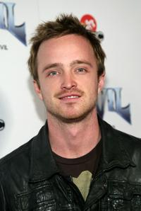 Aaron Paul at the premiere of