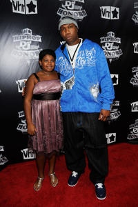 Tyme and KRS-One at the 2009 VH1 Hip Hop Honors in New York.