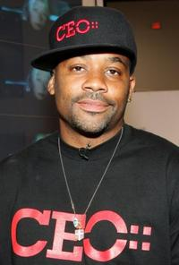 Damon Dash at the MAGIC convention.