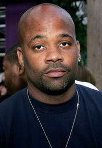 Damon Dash at the fashion fete to celebrate the launch of the magazine