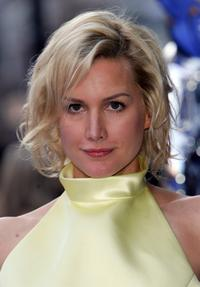 Alice Evans at the world premiere of