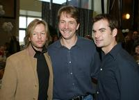 David Spade, Jeff Foxworthy and Jeff Gordon at the after party of the premiere of
