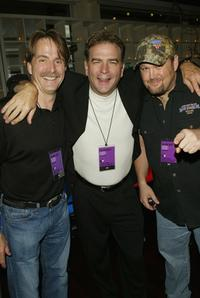 Jeff Foxworthy, Bill Engvall and Larry at the WB Television Network Upfront All Star Party.