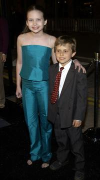 Daveigh Chase and David Dorfman at the Los Angeles premiere of
