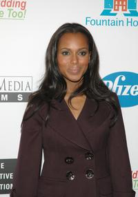 Kerry Washington at the premiere of