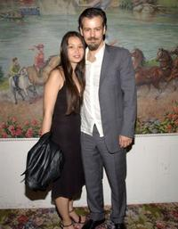 Rupert Graves and Guest at the after party of the play of