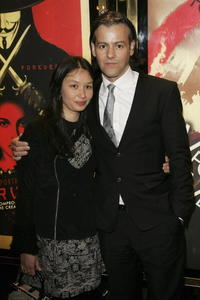 Rupert Graves and his wife at the UK premiere of