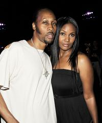 RZA and Talani Rabb at the after party of the premiere of