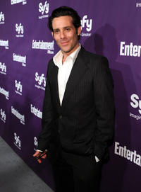 James Callis at the EW and SyFy party during the Comic-Con 2010 in California.