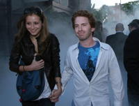 Seth Green and guest at the after party for the U.S. premiere of