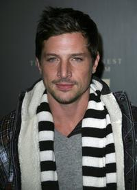 Simon Rex at the Trump Vodka launch party.