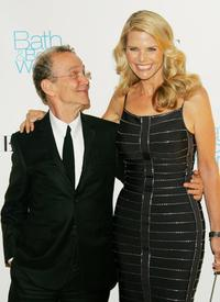 Joel Grey and Christie Brinkley at the Skin Cancer Foundation's Annual Skin Sense Award Gala.