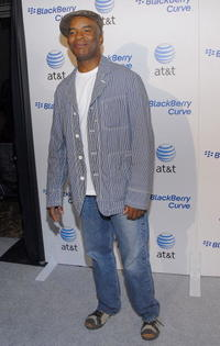 David Alan Grier at the launch party for the new BlackBerry Curve at The Regent Beverly Wilshire Hotel.