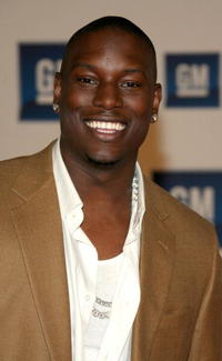 Tyrese Gibson at the General Motors TEN party.