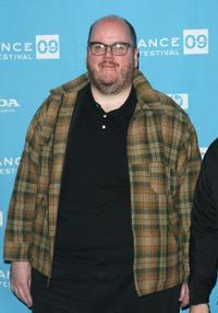 John Requa at the premiere of