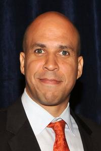 Cory Booker at the HELP USA 2010 Domestic Violence Graduate Scholarship Awards luncheon.