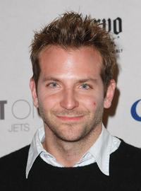 Bradley Cooper at the Playboy's Super Saturday Night Party.