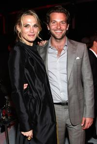 Molly Sims and Bradley Cooper at the after party of the premiere of