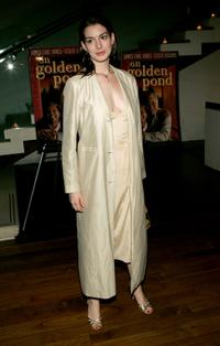Anne Hathaway at the after party of the opening night of