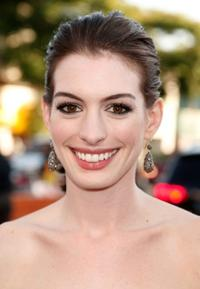 Anne Hathaway at the World premiere of