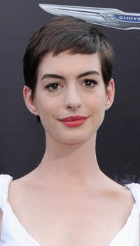 Anne Hathaway at the New York premiere of