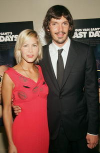 Lukas Haas and Nicole Vicius at the premiere of