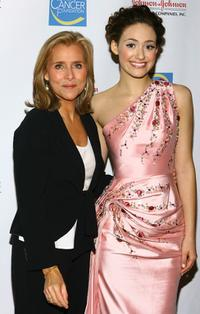 Meredith Vieira and Emmy Rossum at the Skin Sense Awards presented by the Skin Cancer Foundation.