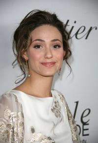 Emmy Rossum at the launch of the new book entitiled