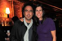 Alejandro Gonzalez Inarritu and Laurie May at the