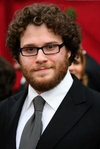 Seth Rogen at the 80th Annual Academy Awards.