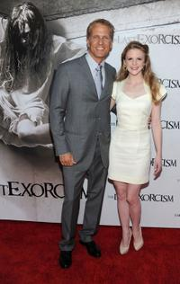 Patrick Fabian and Ashley Bell at the screening of