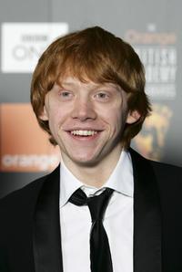 Rupert Grint at th Orange British Academy Film Awards.