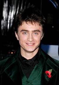 Daniel Radcliffe at the  'Harry Potter and the Sorcerer's Stone' premiere party.