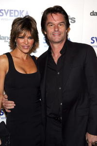 Harry Hamlin and Lisa Rinna at the