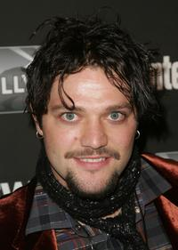Bam Margera at the Entertainment Weekly Academy Awards viewing party.