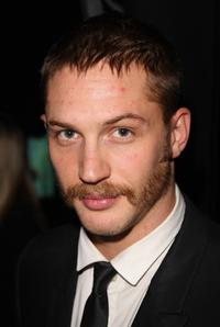 Tom Hardy at the Kuro Black Screen party.