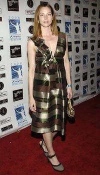 Sienna Guillory at the Celebration of Artistic Freedom Academy Awards viewing Dinner.