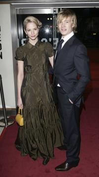 Sienna Guillory and Ed Speleers at the world premiere of