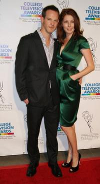 Jason Gray-Stanford and Margot Boecker at the 30th Annual College Television Awards.