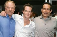 Ted Levine, Jason Gray-Stanford and Tony Shalhoub at the 100th episode of