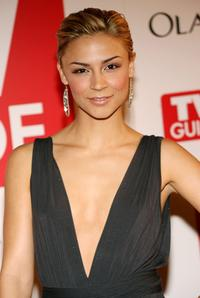Samaire Armstrong at the 4th annual TV Guide after party celebrating Emmys 2006.