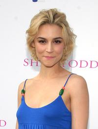 Samaire Armstrong at the Shay Todd Summer 2007 Collection fashion show.