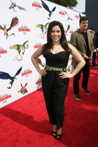 America Ferrera at the Hollywood premiere of