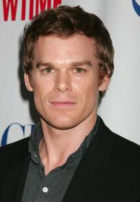 Michael C. Hall at the CW/CBS/Showtime/CBS Television TCA party.