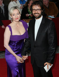 J.K. Rowling and Dr. Neil Murray at the Galaxy British Book Awards in England.