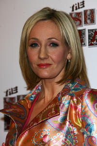 J.K. Rowling at the South Bank Show Awards 2008 in England.