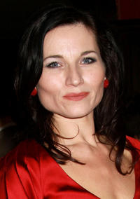 Kate Fleetwood at the presentation of the 2008 Sir John Gielgud Awards in New York.